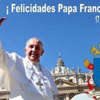 Feliz Cumpleaños #PapaFrancisco