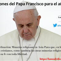 Intenciones del #PapaFrancisco 2018 (Enero)