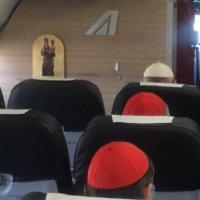 Peregrinación ecuménica del Papa Francisco a Ginebra – Salida de Roma y telegrama al Presidente de la República Italiana