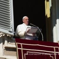 Palabras del Santo Padre al rezo del Ángelus Domini, 11.11.2018