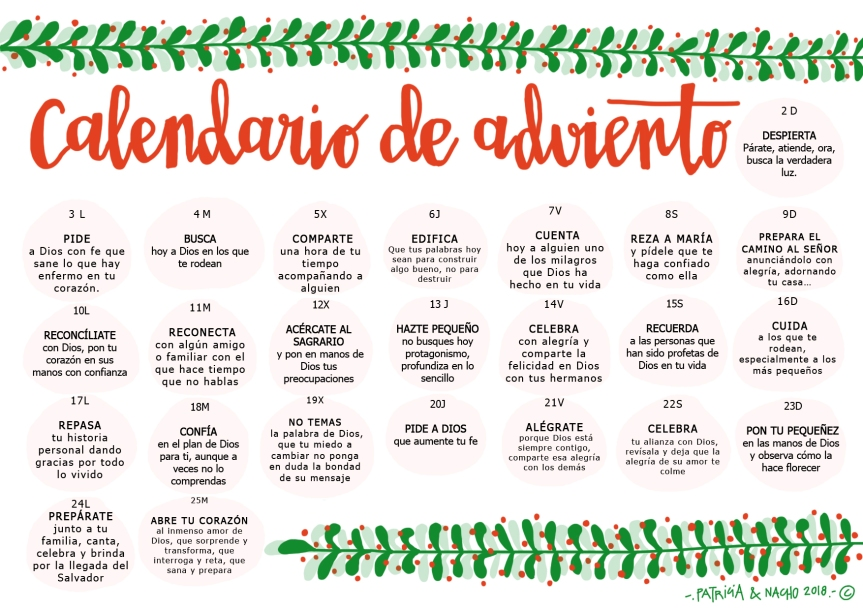 Calendario de Adviento2018