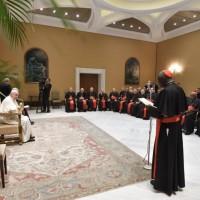 Audiencia del Papa Francisco a los participantes en la Asamblea Plenaria de la Congregación para el Culto Divino y la Disciplina de los Sacramentos