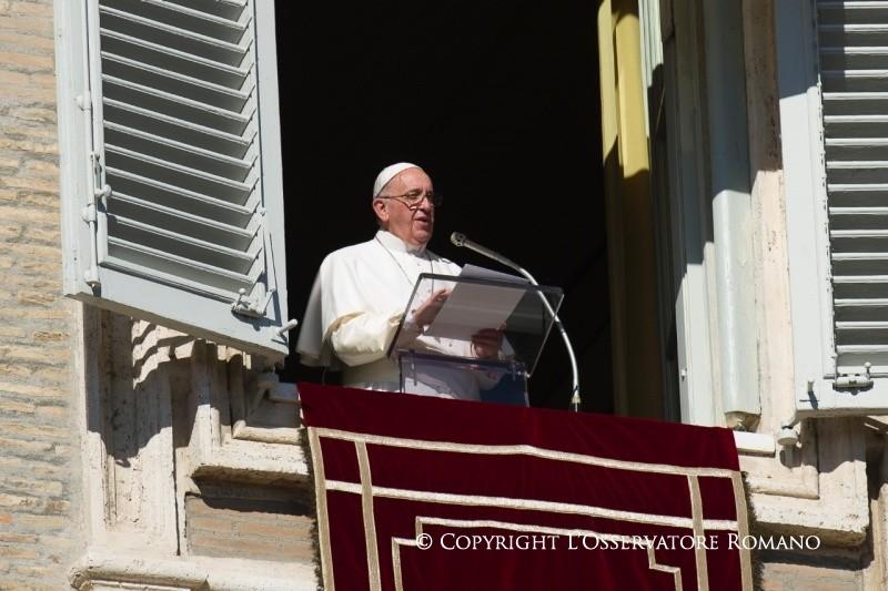 Palabras del Papa Francisco al rezo del Ángelus Domini,10.11.2019