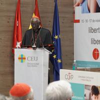 """Conferencia del cardenal Robert Sarah """"La importancia de la educación en la misión de la Iglesia hoy"""