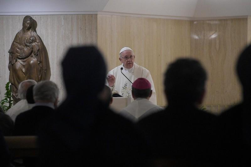 Homilía del Papa Francisco en Santa Marta: El perdón de lospecados