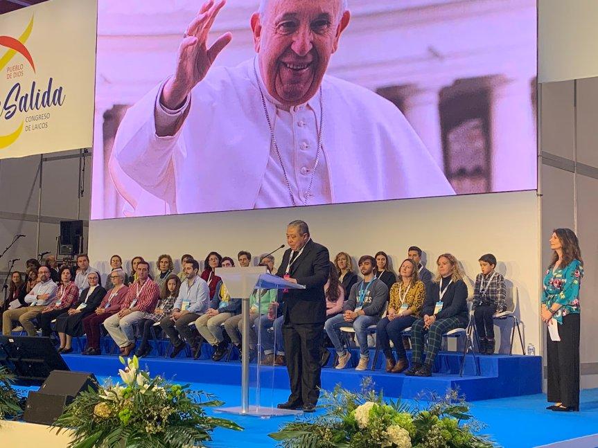 Mensaje del Papa Francisco en el Congreso de Laicos2020