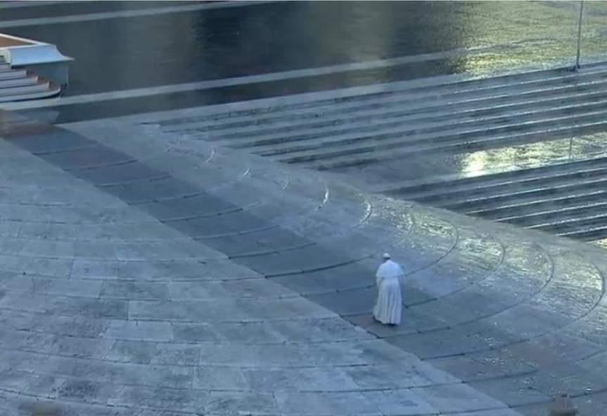 Meditación del Papa Francisco en bendición Urbi et Orbi por pandemia delcoronavirus