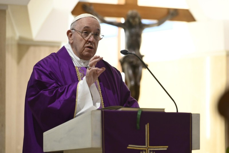 Homilía Papa Francisco en el IV Domingo de Cuaresma: El miedo de dejar pasar aCristo