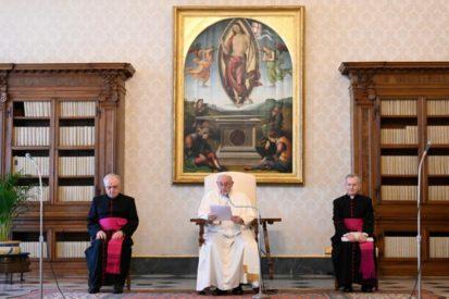 Audiencia General 15.04.20: Los santos, constructores de la verdadera paz deCristo