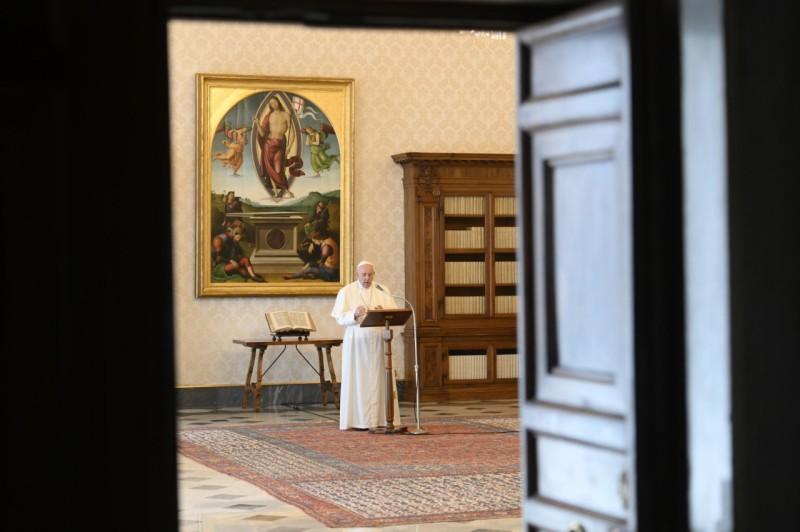 Palabras del Papa Francisco al rezo del Regina Coeli,17.05.2020