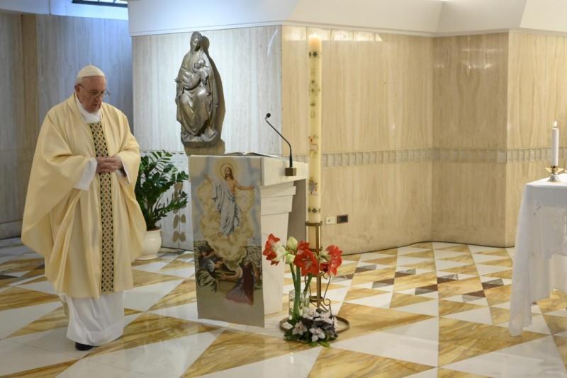Homilía del Santo Padre Francisco VI Domingo de Pascua: El Espíritu Santo nos recuerda el acceso alPadre