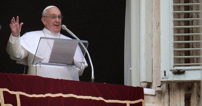 Palabras del Papa Francisco al rezo del Ángelus Domini,14.06.2020