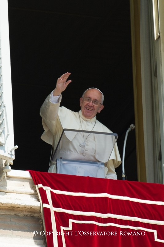 Palabras del Papa Francisco al rezo del Ángelus Domini,12.07.202