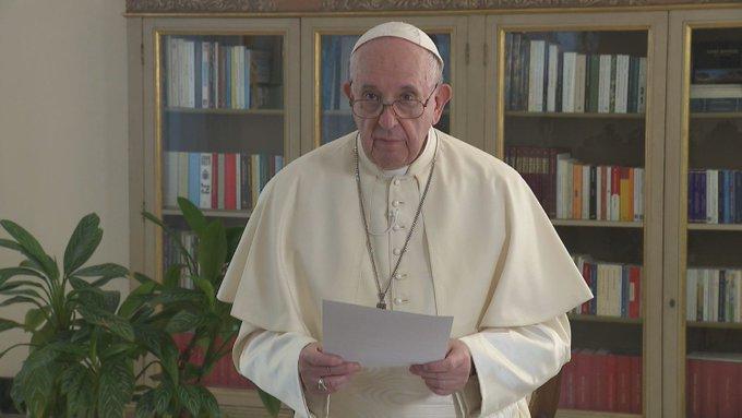 Videomensaje del Santo Padre con ocasión de la 75 Asamblea general de las NacionesUnidas