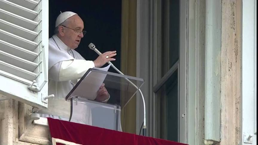 Palabras del Papa Francisco al rezo del Ángelus,26.09.2021