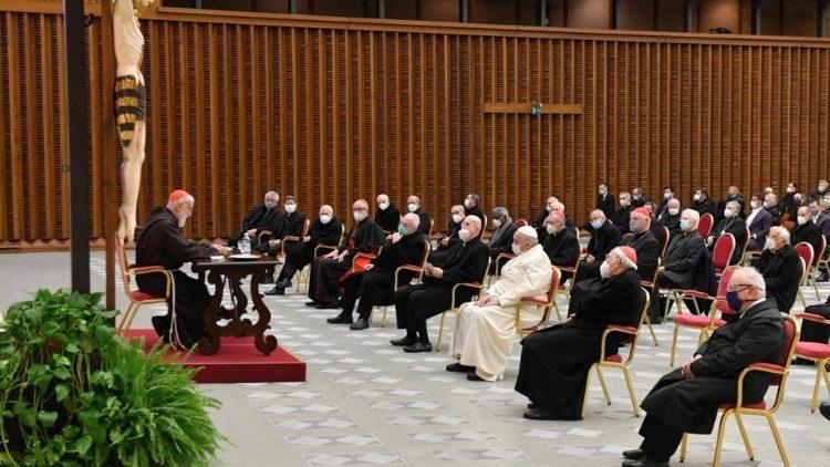 Primera predicación de Adviento del cardenal RanieroCantalamessa