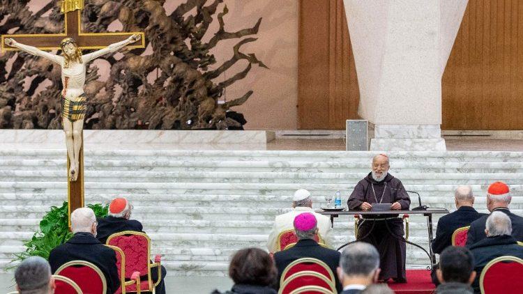 Tercera predicación de Adviento del cardenal RanieroCantalamessa