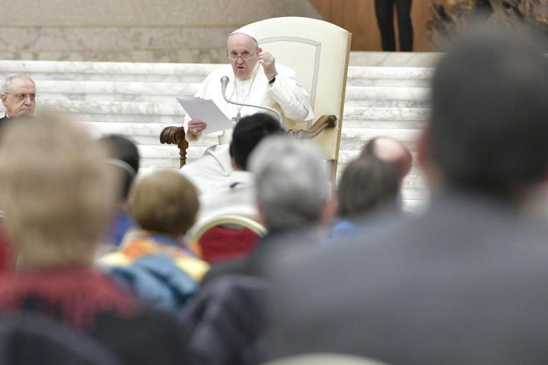 Audiencia del Santo Padre a los participantes en la Asamblea General del Movimiento de losFocolares