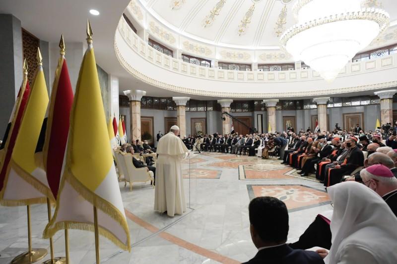 Discurso del Papa Francisco en el Encuentro con las autoridades, la sociedad civil y el Cuerpodiplomático