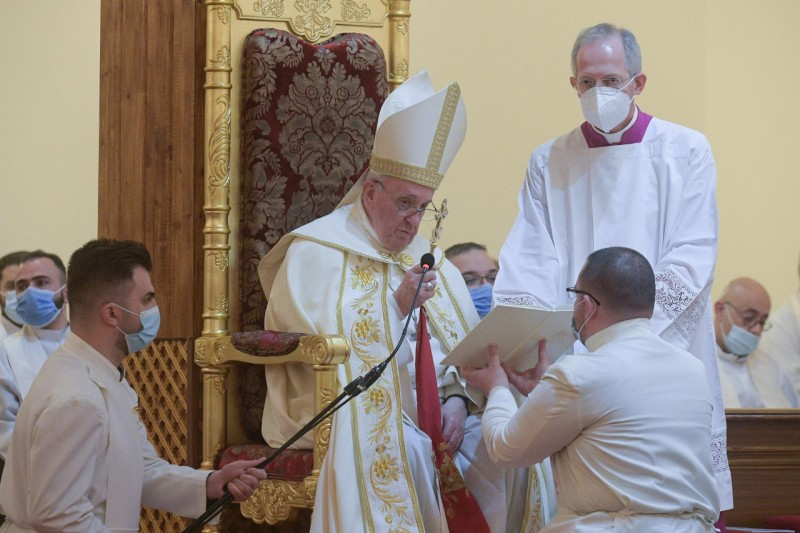 Homilía del Papa Francisco en Santa Misa en la Catedral caldea de SanJosé