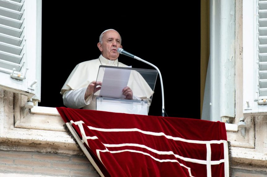 Palabras del Papa Francisco al rezo del Ángelus,21.02.2021