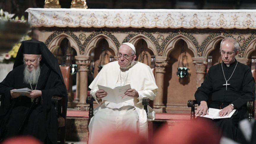 Mensaje conjunto para la protección de la Creación del Santo Padre Francisco, Su Santidad Bartolomé I y Su Gracia JustinWelby